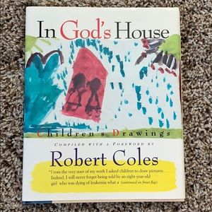 NEW In God's House Childrens Drawings Robert Coles